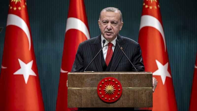 Cumhurbaşkanı Erdoğan: Yerli aşı çalışmalarımız tamamlandığında aşımızı tüm insanlığın kullanımına sunmayı öngörüyoruz