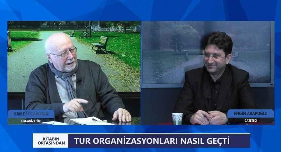 Arapoğlu'nun konuğu efsane organizatör Hamdi Özarutan