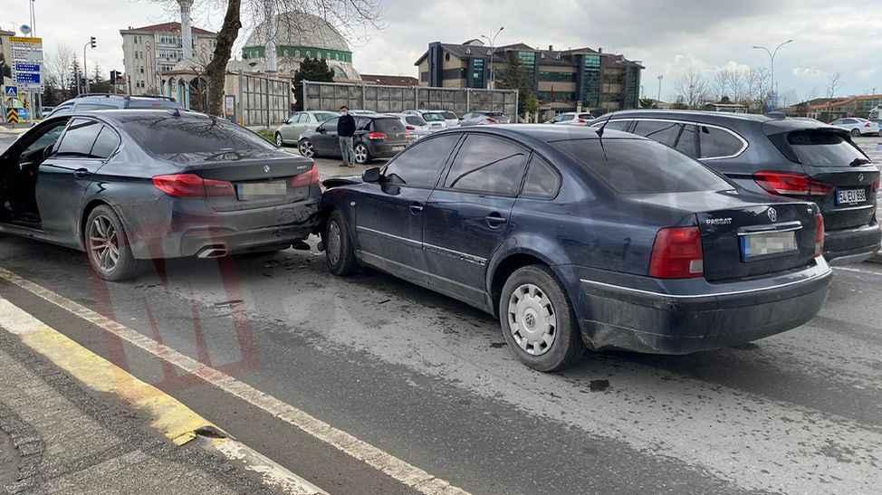Basit bir kaza deyip geçme! : 1 yaralı