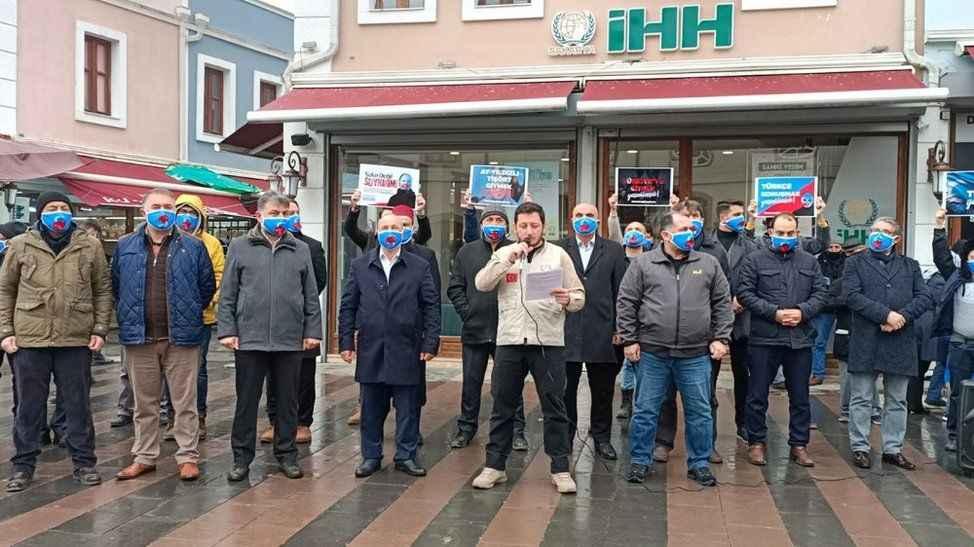 Sakarya Genç İHH'dan Çin'e Doğu Türkistan tepkisi