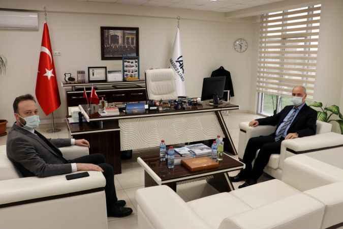 Sakarya Bölge Adliye Mahkemesi Başkanı Koçer'den AA Sakarya Bölge Müdürlüğüne ziyaret