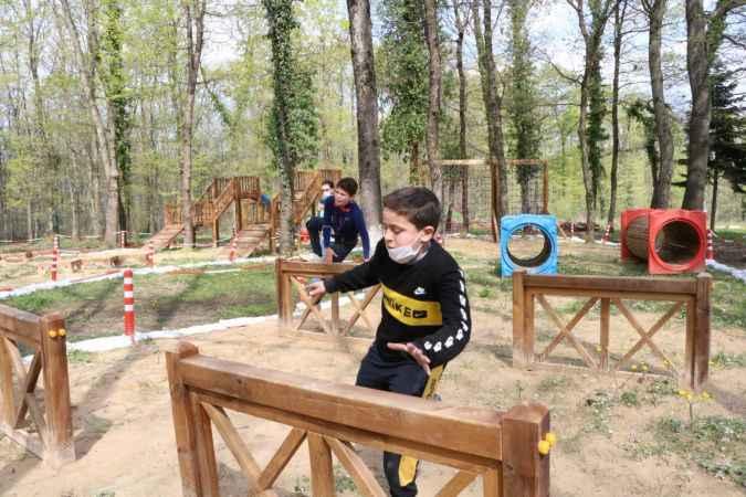 Suriyeli, Iraklı ve Türk çocuklar, oyunlarla kaynaştı