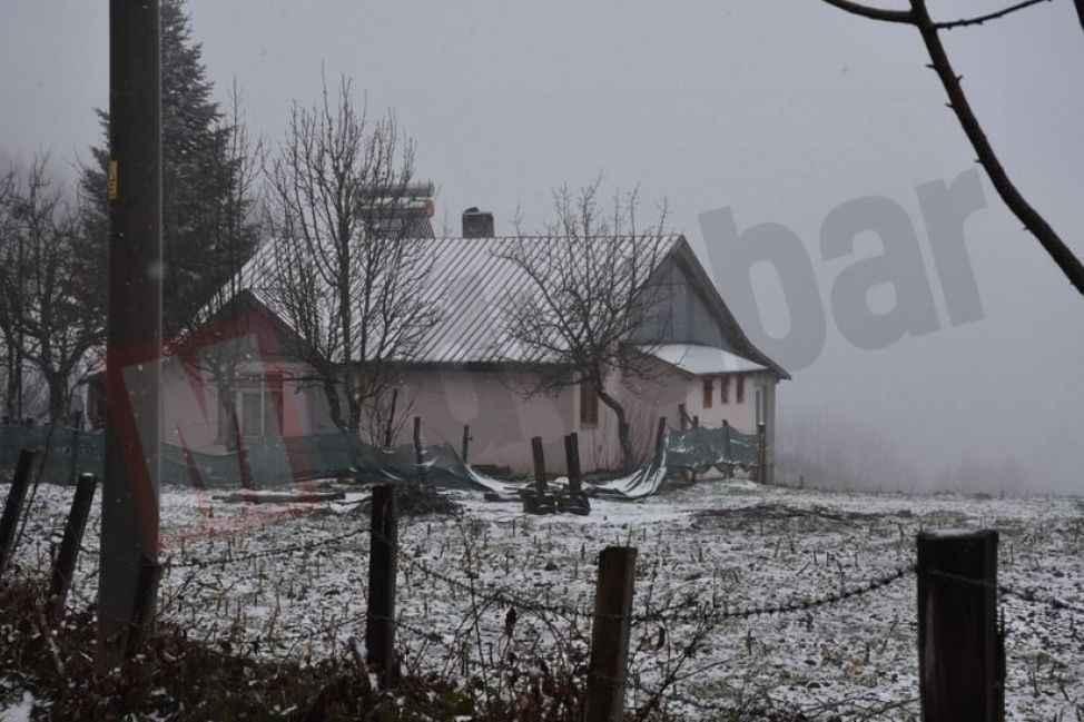 Dikmen'de kar yağışı yeniden başladı