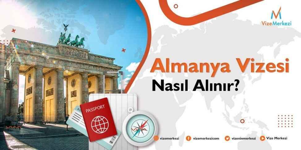 Almanya vizesi nasıl alınır?