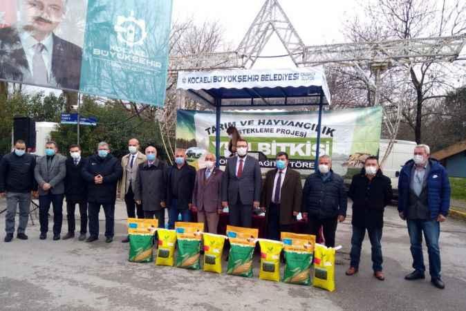 Kocaeli'de yüzde 50 hibeli tohumların dağıtımı başladı