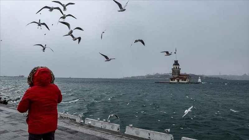 Marmara Bölgesi genelinde aralıklı yağmur ve sağanak bekleniyor