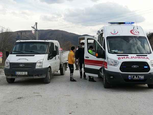 Bilecik'te zincirleme trafik kazası: 2 yaralı