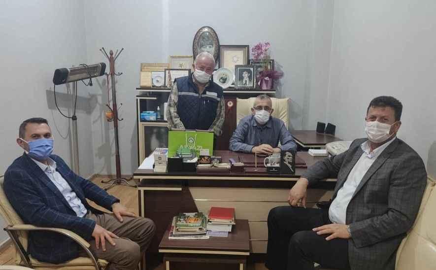 Başkan Soykan'dan Akyazi.net'e 19. Yıl ziyareti