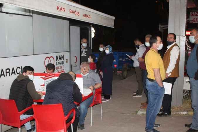Ferizli'de kan bağışı kampanyası başlatıldı