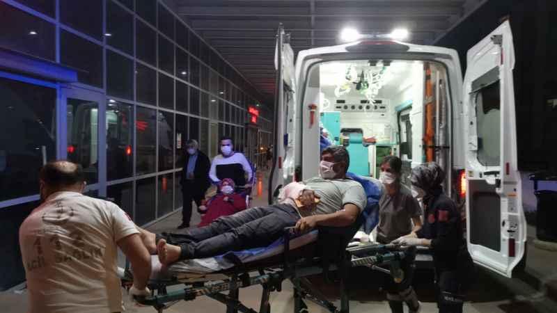 Kocaeli'de kolu yük rampasına sıkışan işçi yaralandı