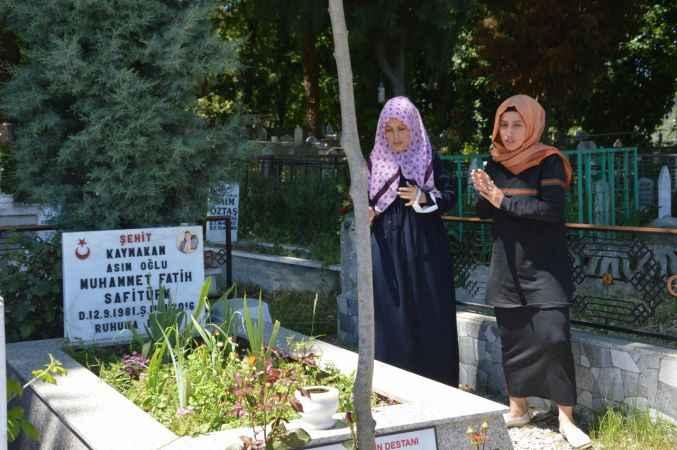 Doğu Marmara ve Batı Karadeniz'de Ramazan Bayramı arifesinde şehitlik ziyaretleri yapıldı