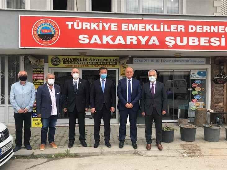 SGK'dan Emekliler Derneği'ne ziyaret!