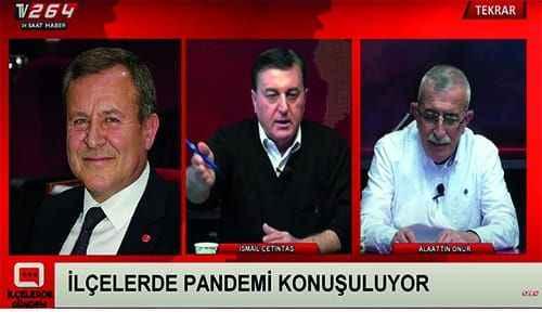 İlçelerde Gündem programının konuğu meclis üyesi Ahmet Şen