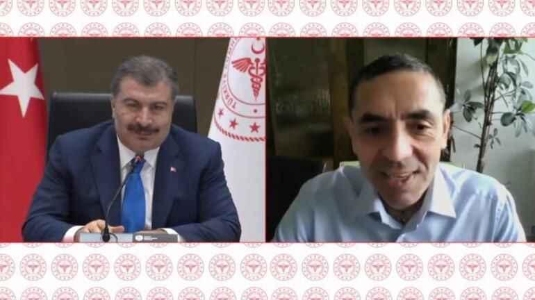 Bakan Koca ve Prof Dr. Şahin müjdeli haberleri peş peşe verdi!