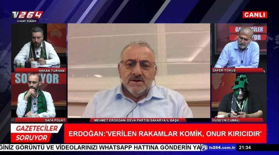 """Gazeteciler Soruyor'da MHP ve DEVA Partisi il başkanları arasında """"MHP"""" polemiği yaşandı"""