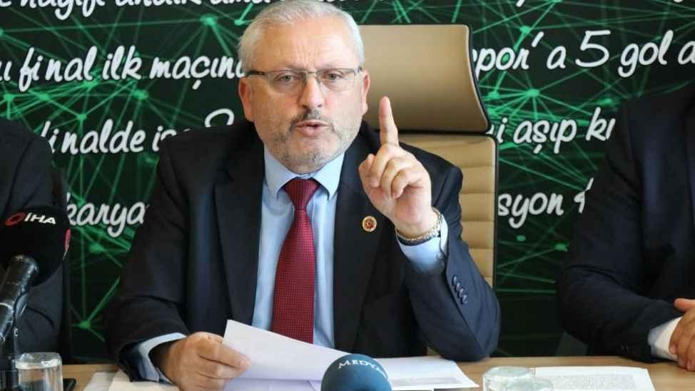 Başkan Bahadır meclisten Sakaryaspor için seslendi