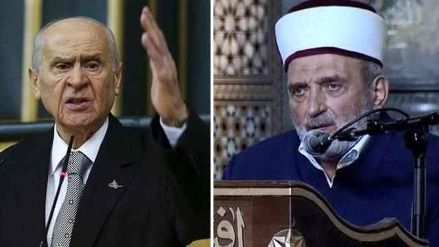 Atatürk'e hakaret ettiği öne sürülen imama Bahçeli'den sert tepki