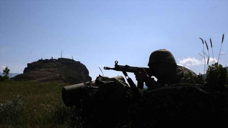 Yüksekova'da METİ timine İran topraklarından roket atan 3 PKK'lı terörist etkisiz hale getirildi