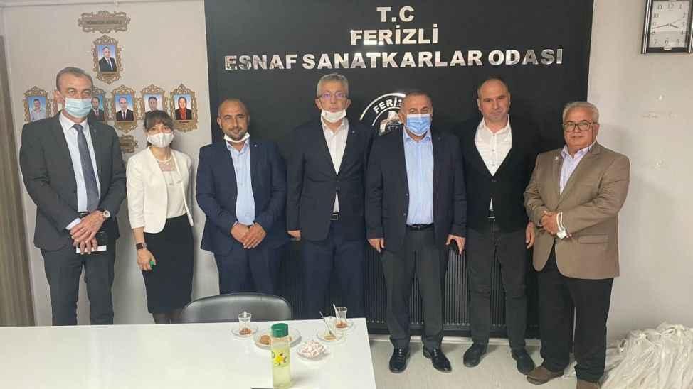 DEVA Partisi Ferizli'de vatandaşlarla buluştu