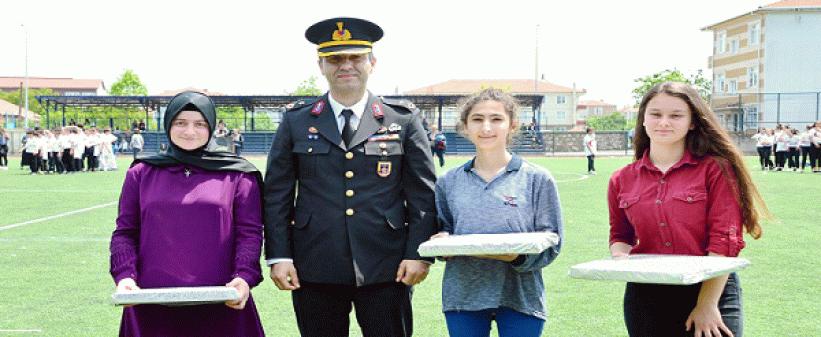 Karasu Jandarma komutanı Altunel'in tayini çıktı