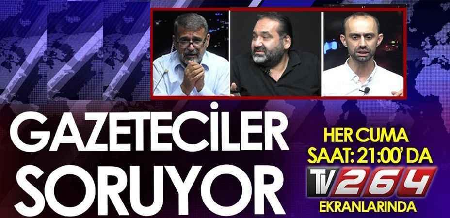 Gazeteciler Soruyor programında bu hafta!