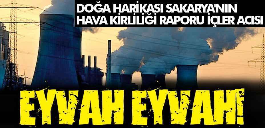 Doğa harikası Sakarya'nın hava kirliliği raporu içler acısı