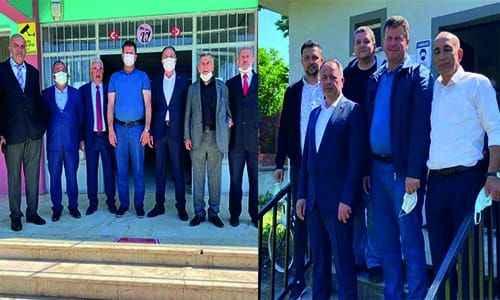 Başkan Soykan seçim sandıklarını ziyaret etti