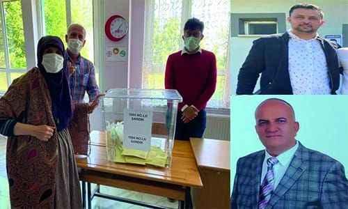 Akyazı Küçücek'te Köymen, Erdoğdu'da Yıldız Muhtar
