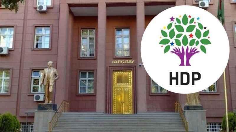 Yargıtay, HDP'nin kapatılması için yeniden dava açtı