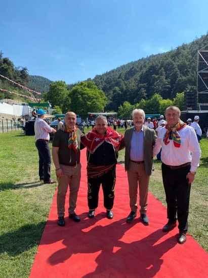 Söğütlü Güreş Ağası Özcan, Bursa'daki Çalı Yağlı Güreşleri'nde konuk edildi!