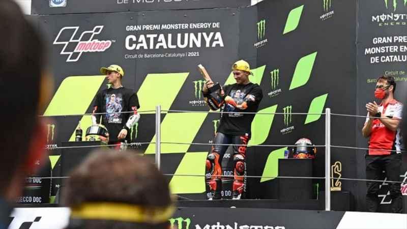 Moto3 Dünya Şampiyonası'nda ilk podyum sevincini yaşayan Deniz Öncü'nün hedefi, MotoGP şampiyonluğu