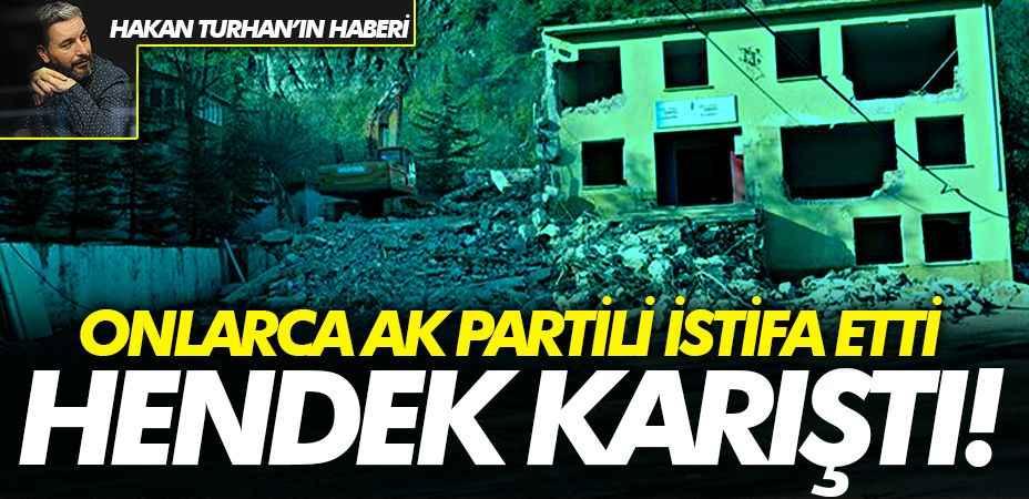 """Hendek karıştı, onlarca AK Partili istifa etti... MEM Müdürü """"Tamamen yanlış anlaşılma"""""""