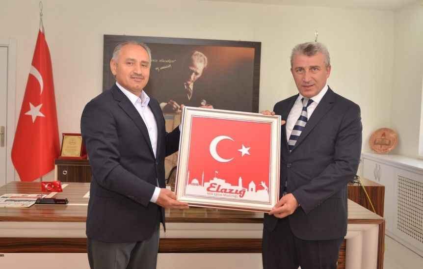 Sakarya'ya atanan Cumhuriyet Başsavcısı Elazığ'da veda ziyaretlerine başladı