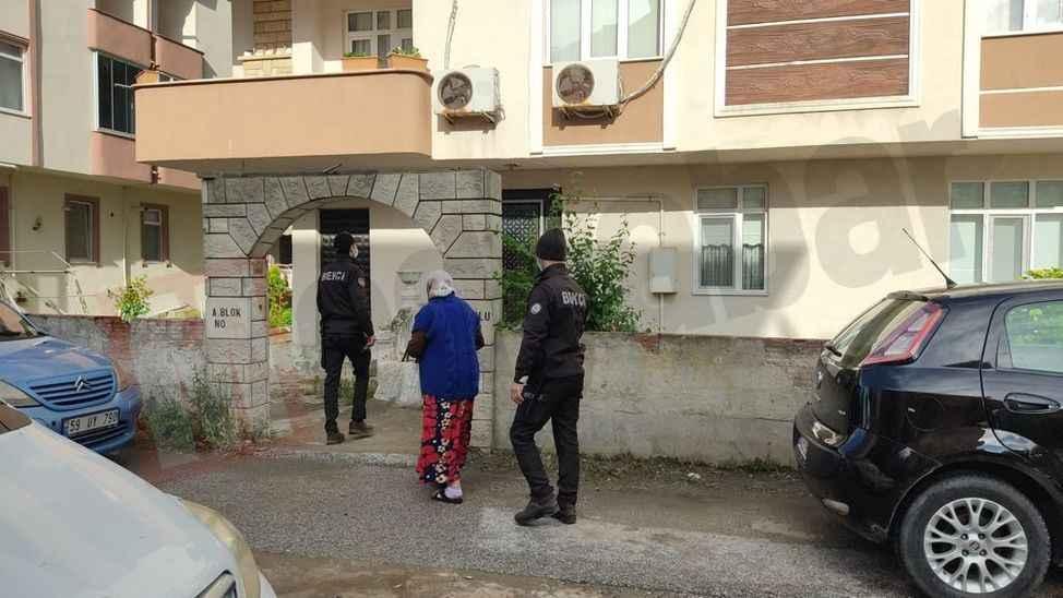 Karasu sahiline gezmek için çıktı, evini bulamayınca polisten yardım istedi