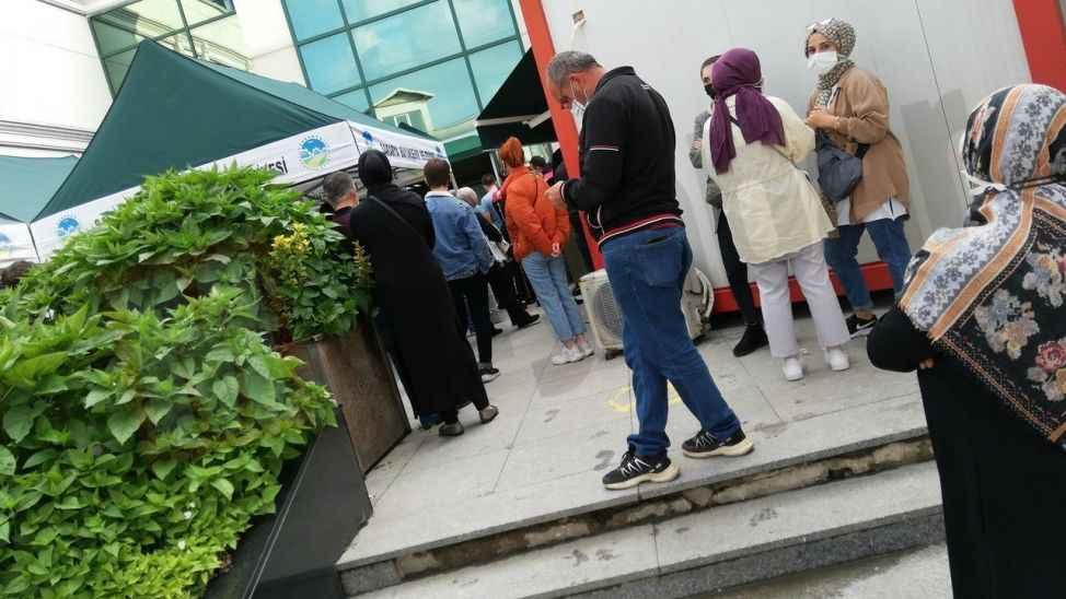 Burası Toyotasa Acil Yardım Hastanesi…. Vatandaşlar sistemsizliği eleştirdi