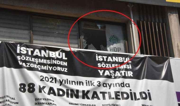 """İzmir'de HDP binasına saldırı; """"Parti görevlisi vurularak öldürüldü iddiası"""""""