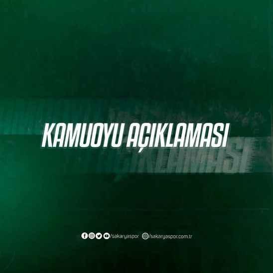 Sakaryaspor'dan kongre açıklaması