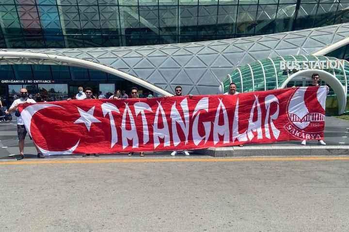 Tatangalar Bakü'de yerini aldı!