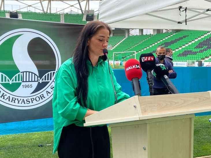 SAKARYASPOR KONGRESİ (8) Karaaslan, 'Futbolcu tarlası olan Sakaryaspor'u eski günlerine döndürmek istiyoruz'