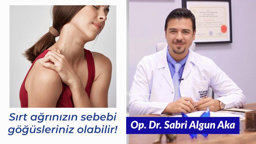 Sırt ağrınızın sebebi göğüsleriniz olabilir!