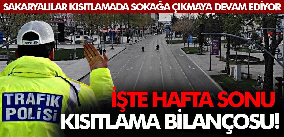 Sadece polis 192 bin TL ceza kesti... İşte hafta sonu kısıtlama bilançosu!