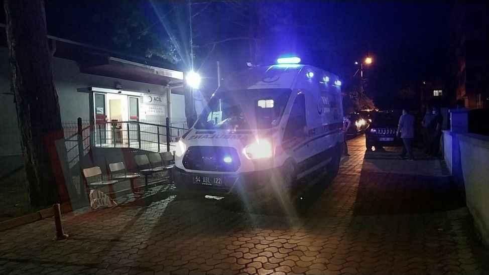 Pamukova'da kaza: 2 yaralı!