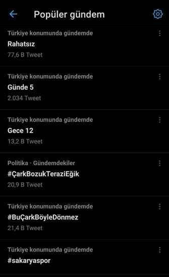#Sakaryaspor Twitter'da gündem oldu