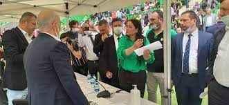 Seçime giremeyen Karaaslan'dan basın açıklaması