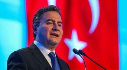 """Ali Babacan'dan """"MHP"""" çıkışı"""