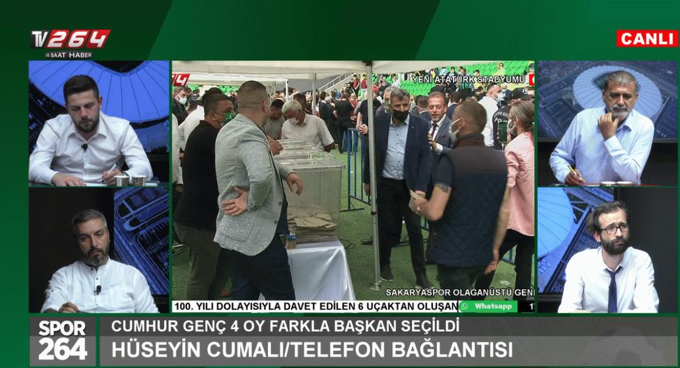 Spor264 programının tekrarı TV264'de