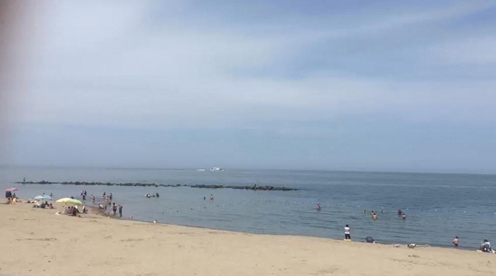 Karasu'da vatandaşlar denize akın etti!