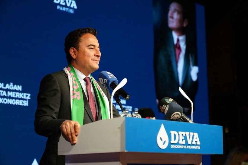 DEVA Partisi Genel Başkanı Ali Babacan geliyor.