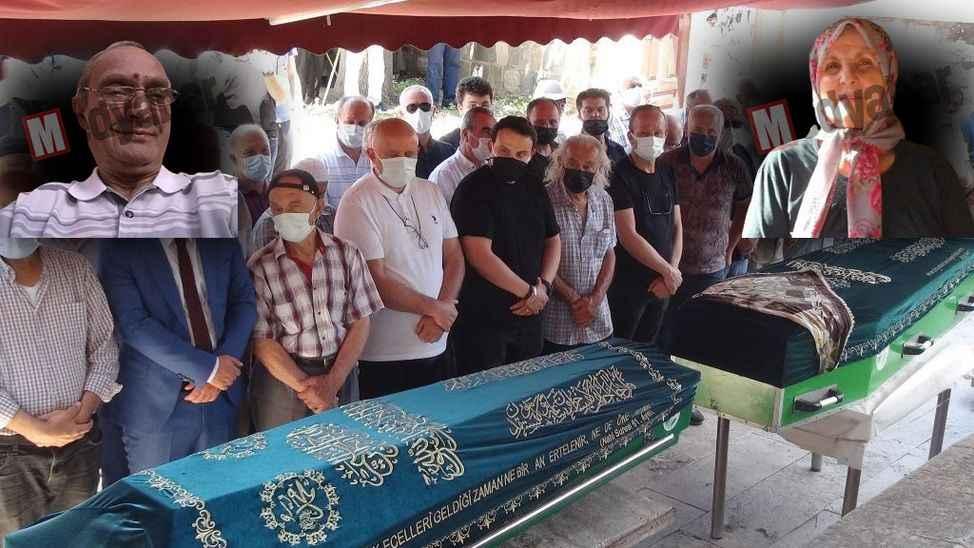 Taraklı'da hazin veda  Trafik kurbanı yaşlı çift toprağa verildi