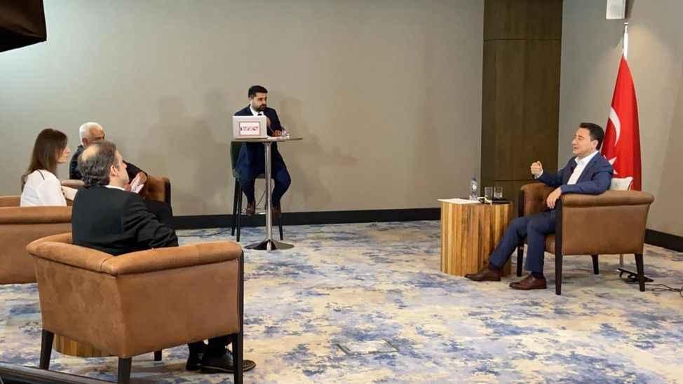 Ali Babacan Tv264'te Sedat Peker videoları hakkında konuştu